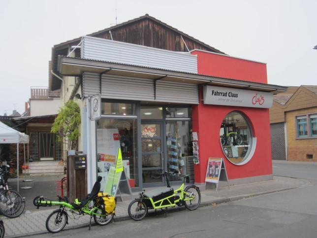 Abholung bei Fahrrad Claus in Trebur