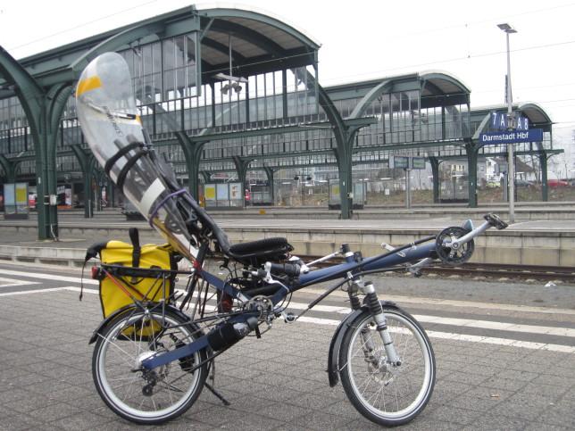 Ostrad im Darmstädter Hauptbahnhof