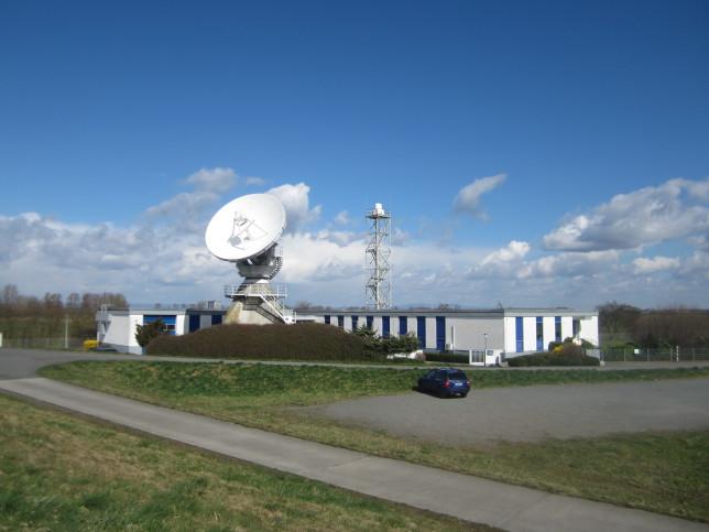 Messstelle für Weltraumfunkdienste in Leeheim (Bild: Klaus Dapp)
