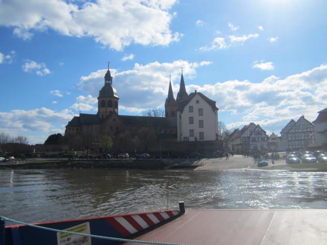 Blick auf Seligenstadt am Main (Bild: Klaus Dapp)