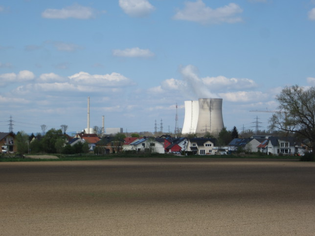 Atomkraftwerk Phillipsburg (Bild: Klaus Dapp)