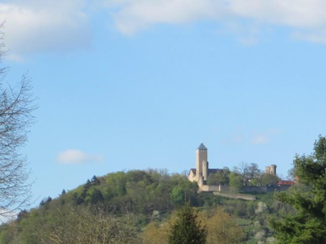 Starkenburg oberhalb von Heppenheim (Bild: Klaus Dapp)
