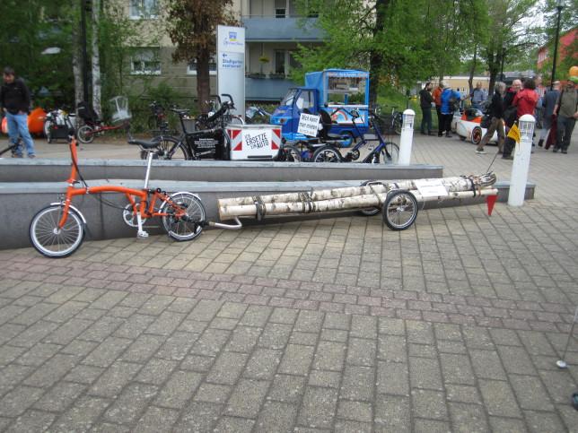 Transportlösungen auf der Spezi 2015 (Bild: Klaus Dapp)