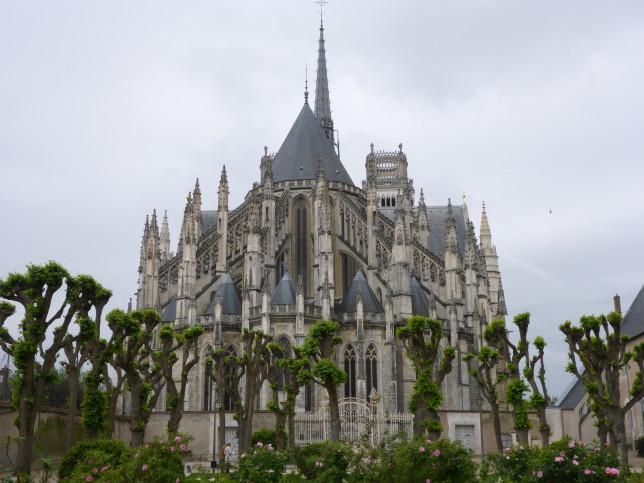 Dachlandschaft der Kathedrale von Orleans (Bild: Klaus Dapp)