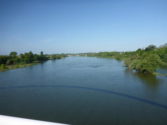 Blick auf die Loire bei Orleans (Bild: Klaus Dapp)