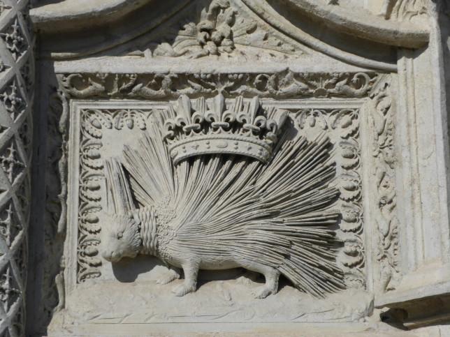 Wappentier der Herren von Blois (Bild: Klaus Dapp)