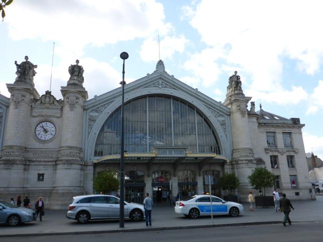 Hauptbahnhof in Tours (Bild: Klaus Dapp)