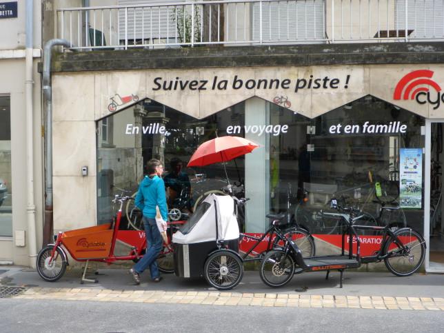 Spezialradladen in Tours (Bild: Klaus Dapp)