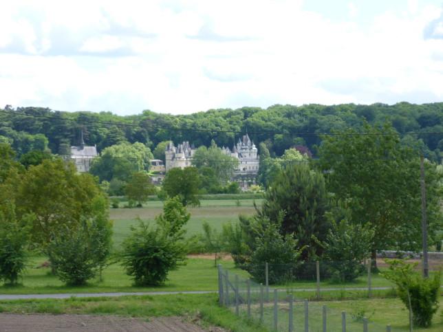 Blick auf das Dornrößchenschloss Ussé (Bild: Klaus Dapp)