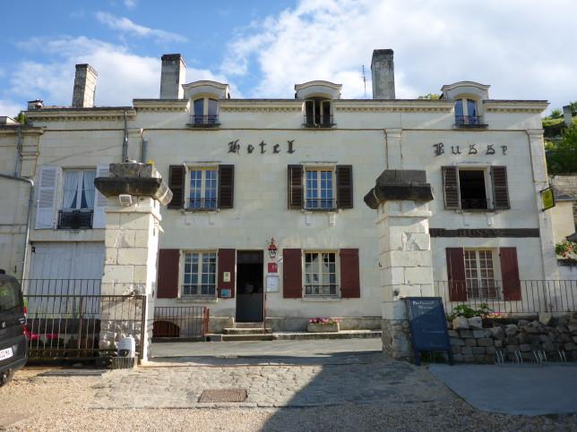 Hotel Busse in Montsoreau (Bild: Klaus Dapp)