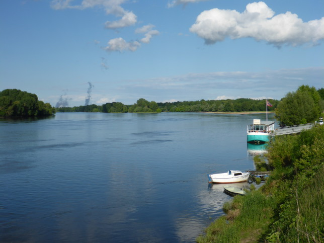Loire in Montsoreau (Bild: Klaus Dapp)