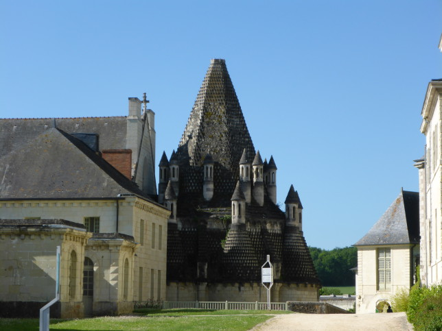 Küche der Abtei von Fontevraud (Bild: Klaus Dapp)
