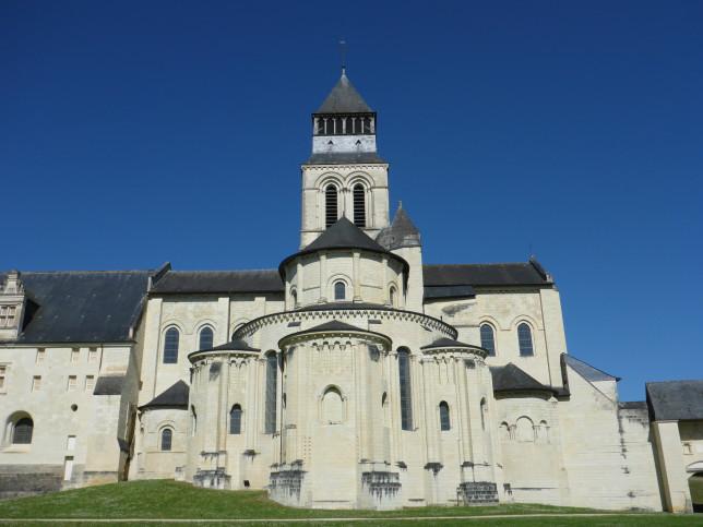 Chor der Kirche der Abtei von Fontevraud (Bild: Klaus Dapp)