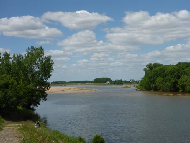 Loire bei Chênehutte-Trèves-Cunault (Bild: Klaus Dapp)
