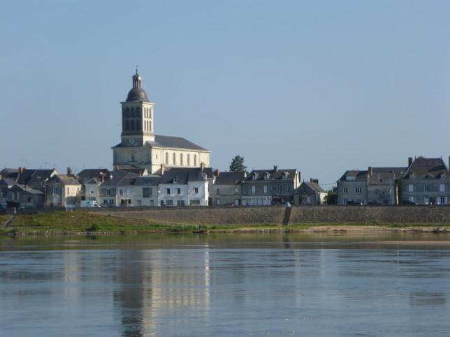 Blick auf St-Mathurin-sur-Loire (Bild: Klaus Dapp)
