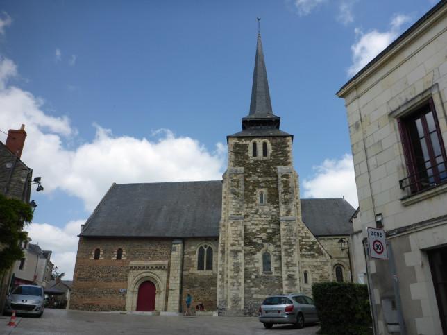 Kirche in Savennières aus dem 10. Jahrhundert (Bild: Klaus Dapp)
