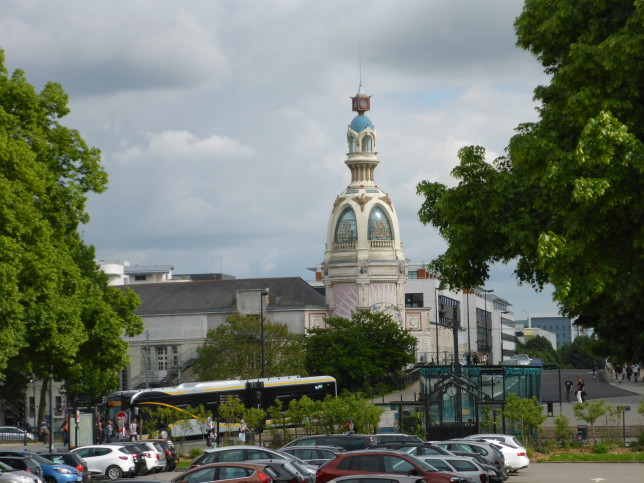 Kulturzentrum in der ehemaligen Keksfabrik LU in Nantes (Bild: Klaus Dapp)