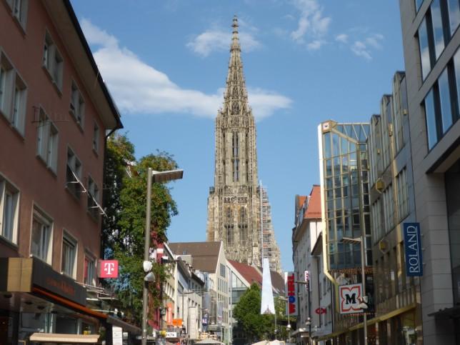 Blick auf das Ulmer Münster (Bild: Klaus Dapp)