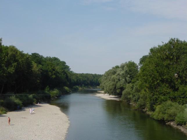 Iller kurz vor der Mündung in die Donau (Bild: Klaus Dapp)