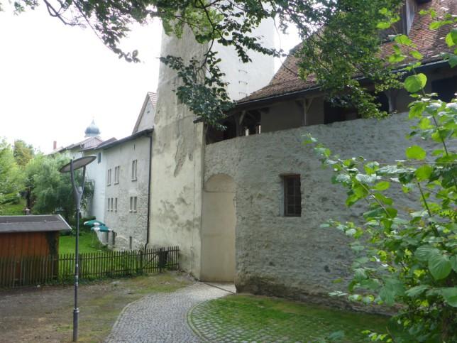 Stadtmauer von Leutkirch (Bild: Klaus Dapp)