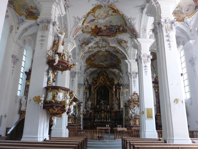 Katholische Kirche in Isny (Bild: Klaus Dapp)