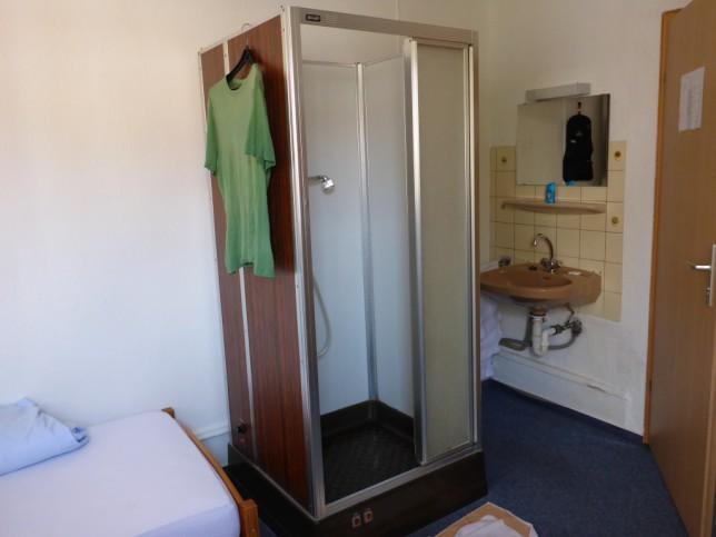 Einfaches Zimmer im Gasthaus Krone (Bild: Klaus Dapp)