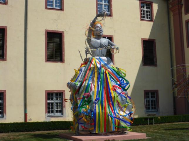 Schutzengel Sitael (Skulpturen der Herzogin Diane von Württemberg) (Bild: Klaus Dapp)