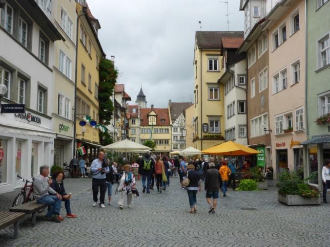 Fußgängerzone in Lindau (Bild: Klaus Dapp)