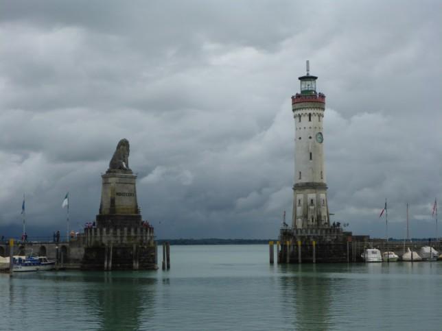 Hafeneinfahrt in Lindau (Bild: Klaus Dapp)