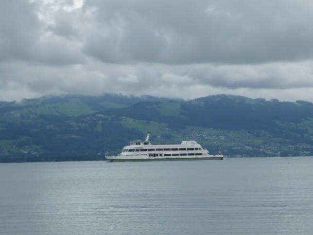 Kursschiff auf dem Bodensee (Bild: Klaus Dapp)