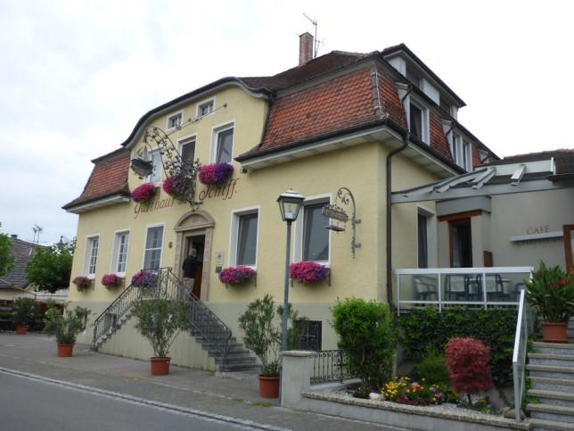 Gasthaus Schiff in Moos (Bild: Klaus Dapp)