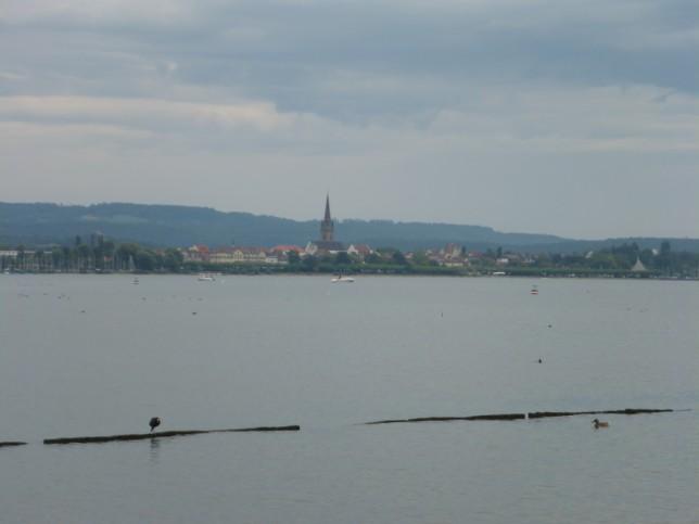 Blick über den Untersee nach Radolfzell (Bild: Klaus Dapp)