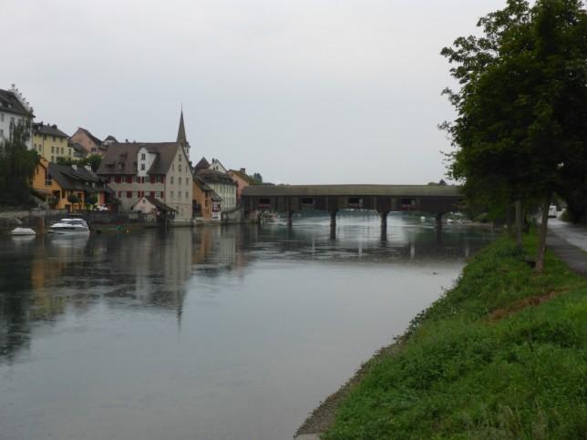 Rheinbrücke zwischen Diessenhofen und Gailingen am Hochrhein (Bild: Klaus Dapp)