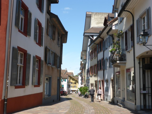 Innenstadt von Rheinfelden (Schweiz) (Bild: Klaus Dapp)