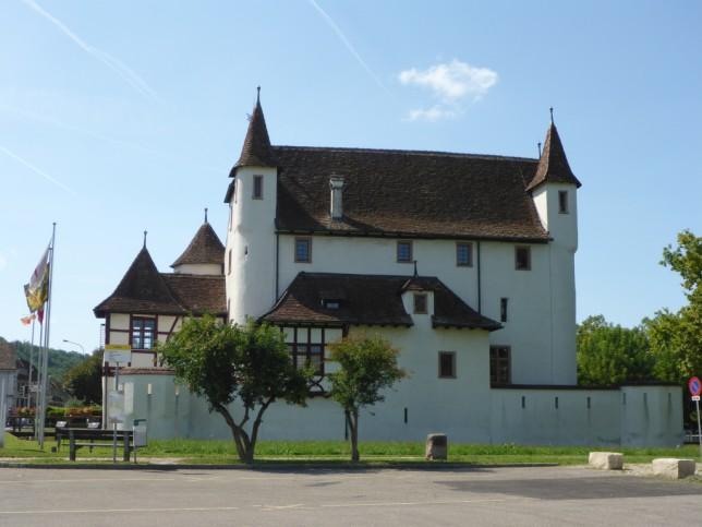 Schloss Pratteln (Bild: Klaus Dapp)Blick von Rheinfelden (Baden) nach Rheinfelden (Schweiz) (Bild: Klaus Dapp)