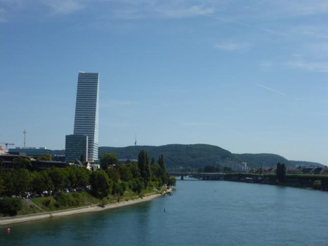 Roche-Turm in Basel (Bild: Klaus Dapp)