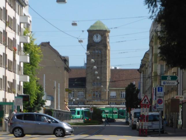 Badischer Bahnhof in Basel (Bild: Klaus Dapp)