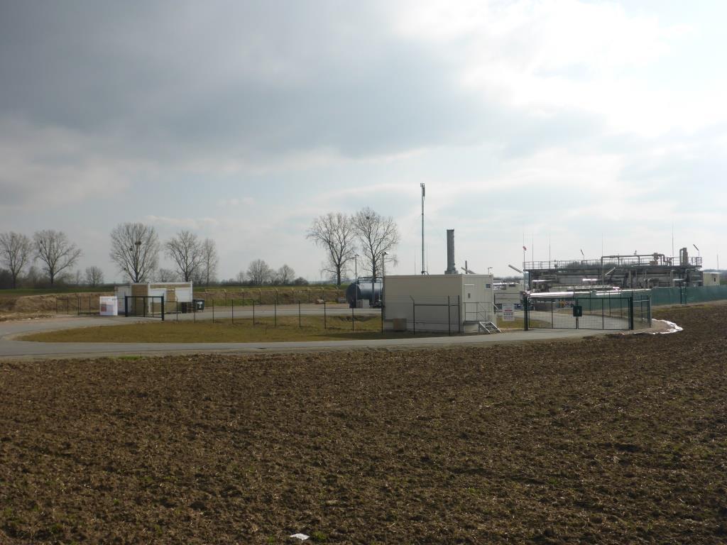 Produktionsstätte Schwarzbach der RheinPetroleum (Bild: Klaus Dapp)