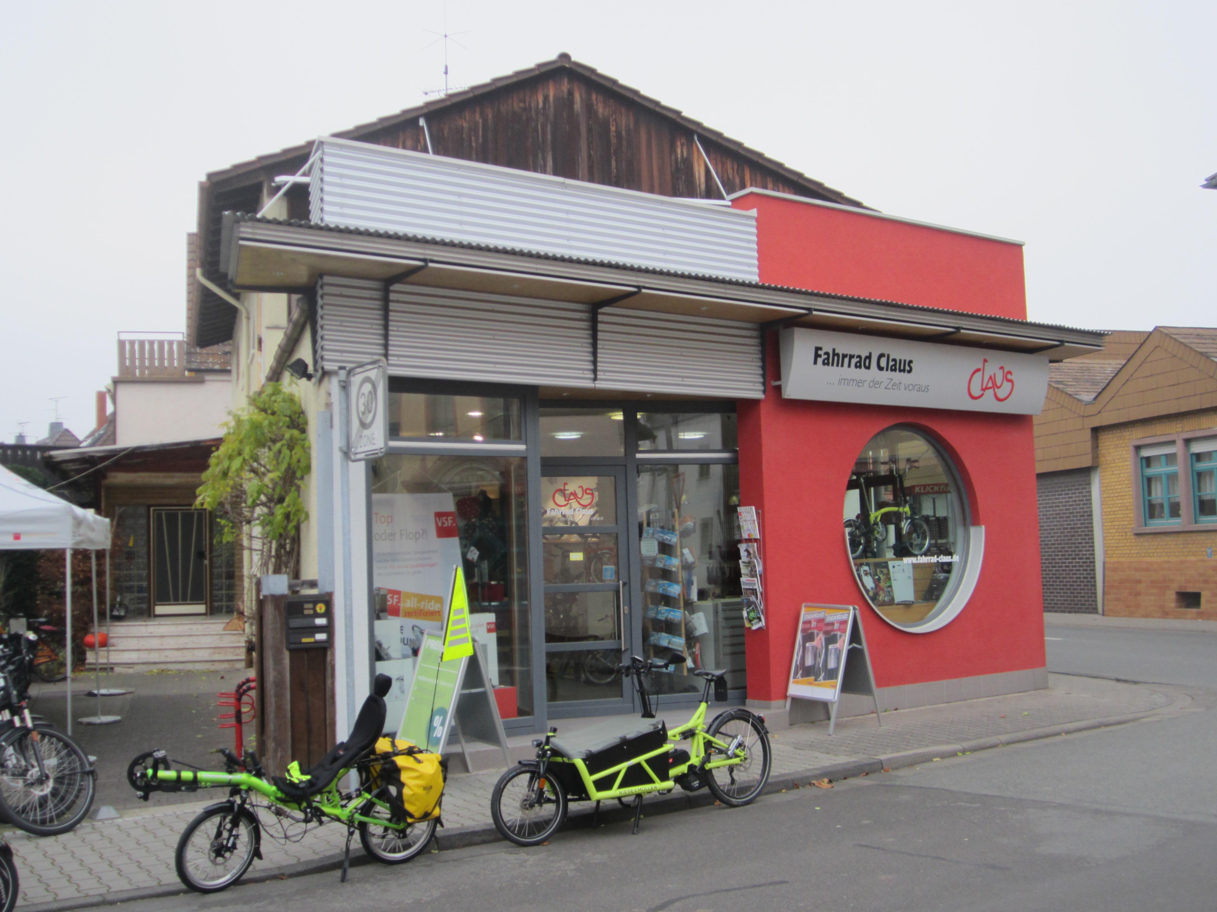 Mein Premiumhändler Fahrrad Claus (Bild: Klaus Dapp)