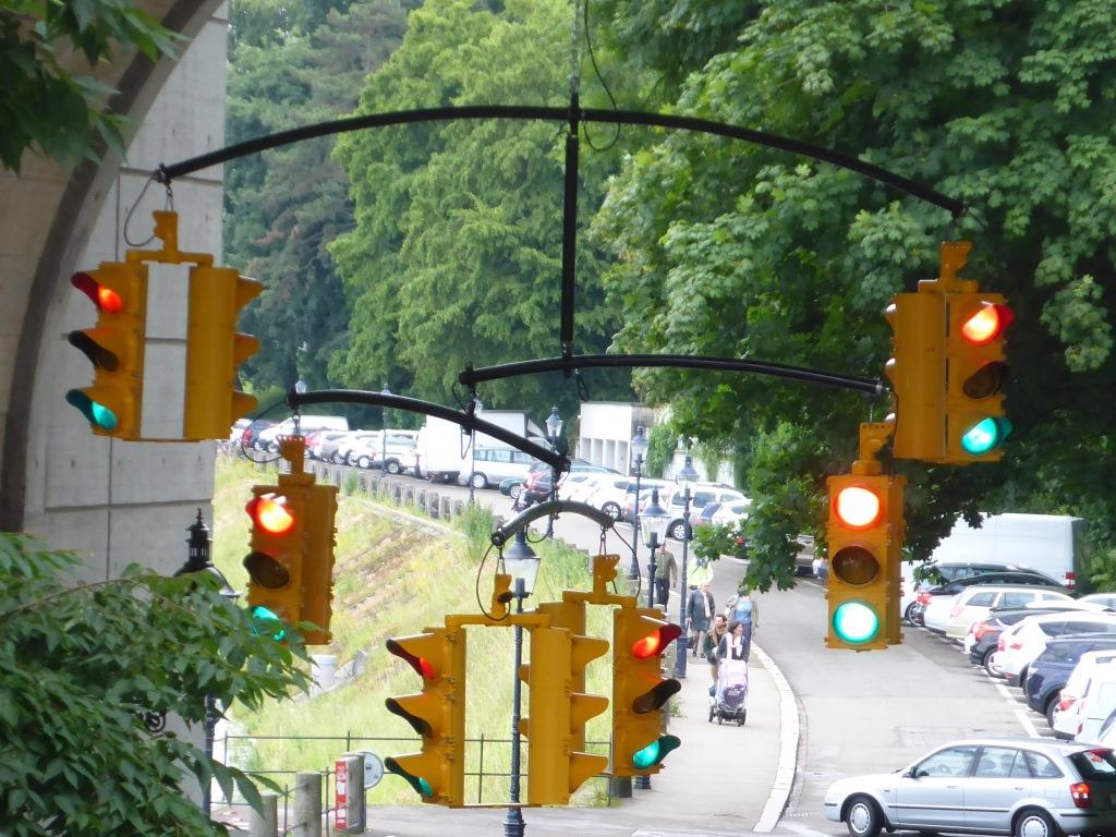 traffic von Ivan Navarro (Bild: Klaus Dapp)