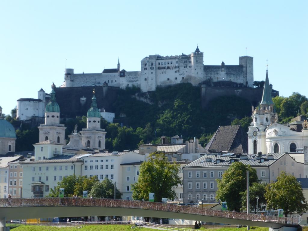 Festung Salzburg im Sonnenschein (Bild: Klaus Dapp)