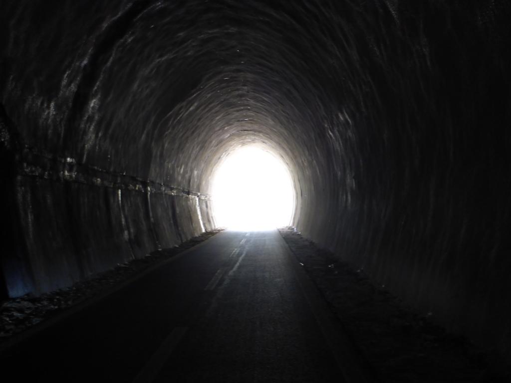 Licht am Ende des Tunnels ... (Bild: Klaus Dapp)