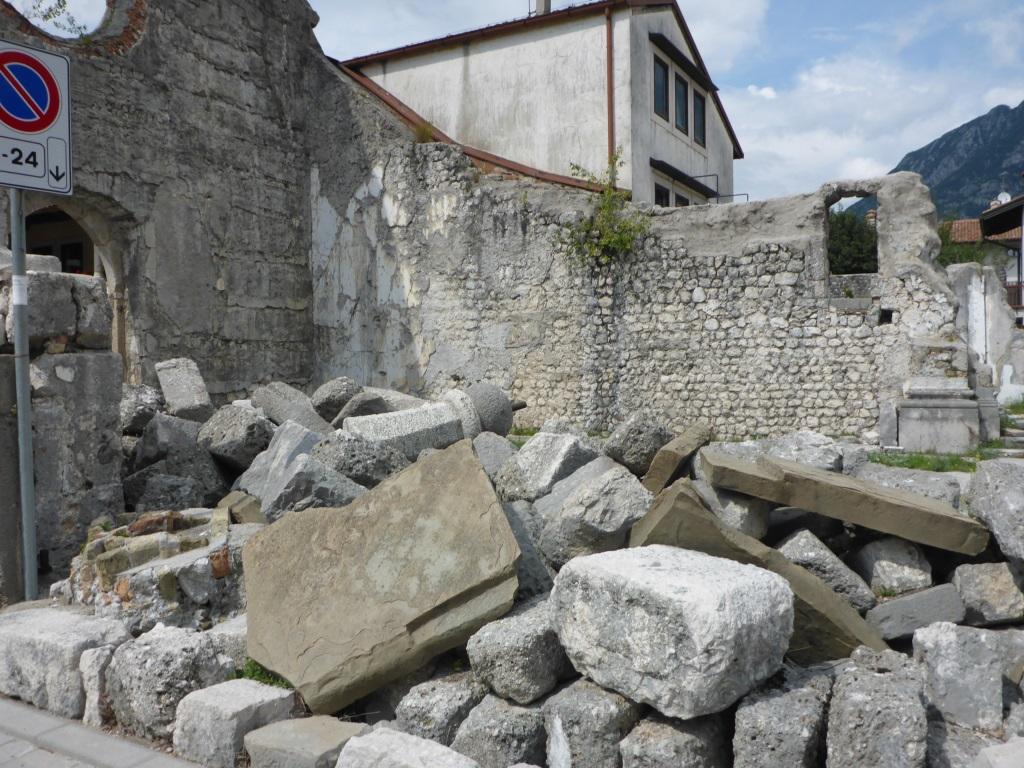 Gedenkstädte an das Erdbeben 1976 in Venzone (Bild: Klaus Dapp)