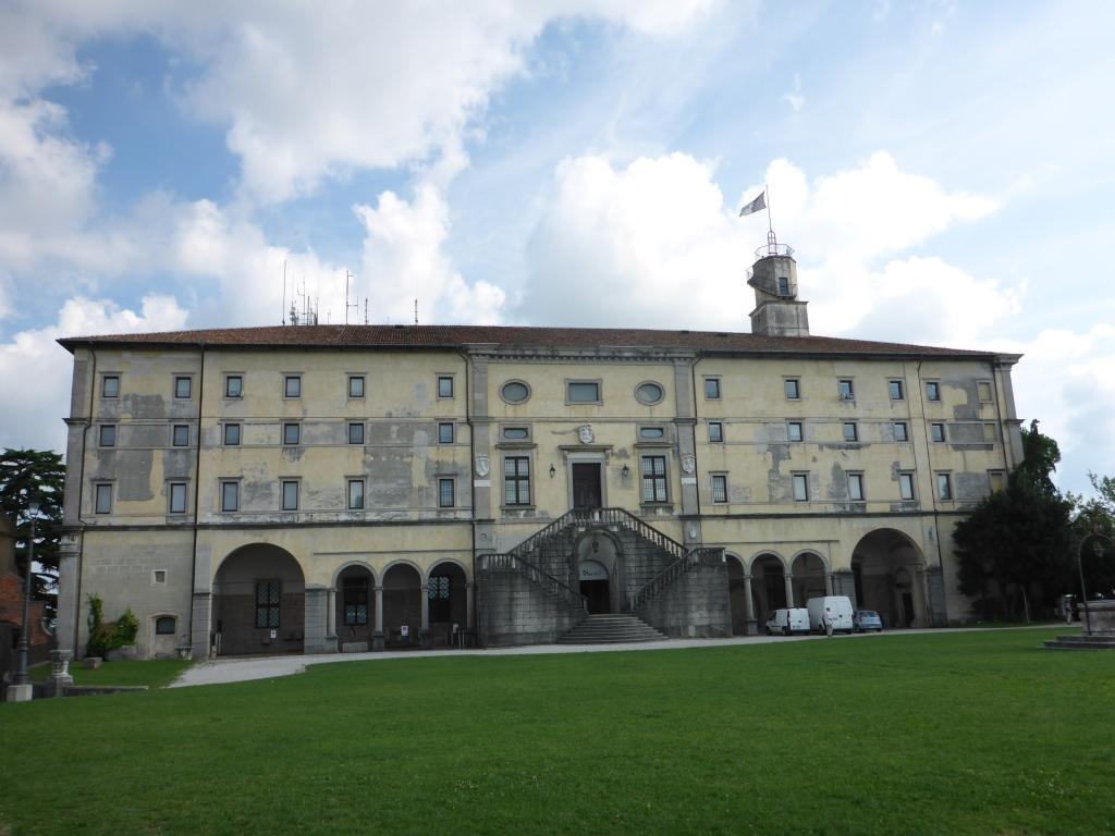 Burg in Udine (Bild: Klaus Dapp)