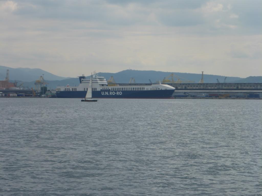 Hafen in Triest (Bild: Klaus Dapp)