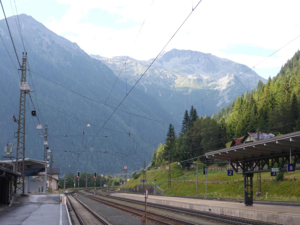 Bahnhof Mallnitz - Ende der Tauernschleuse (Bild: Klaus Dapp)