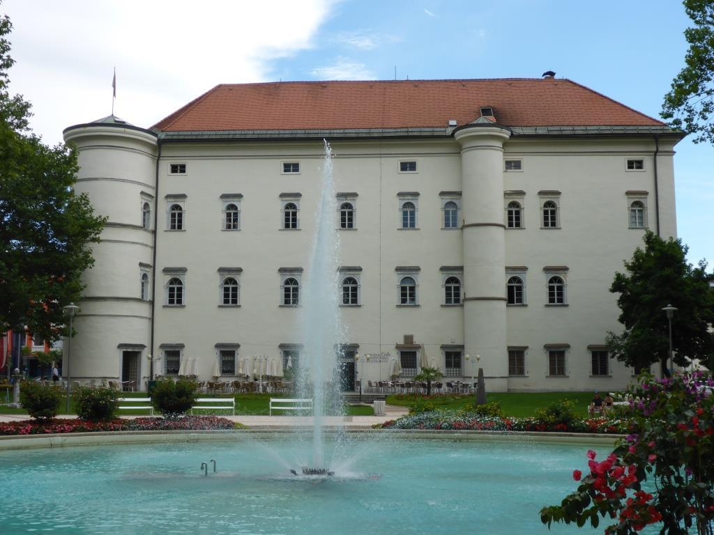 Schloss Porcia in Spittal an der Drau (Bild: Klaus Dapp)