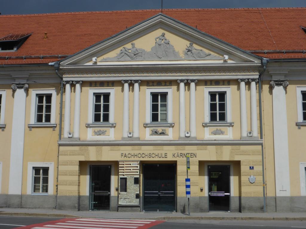 Fachhochschule Kärnten im ehemaligen Spital in Spittal an der Drau (Bild: Klaus Dapp)