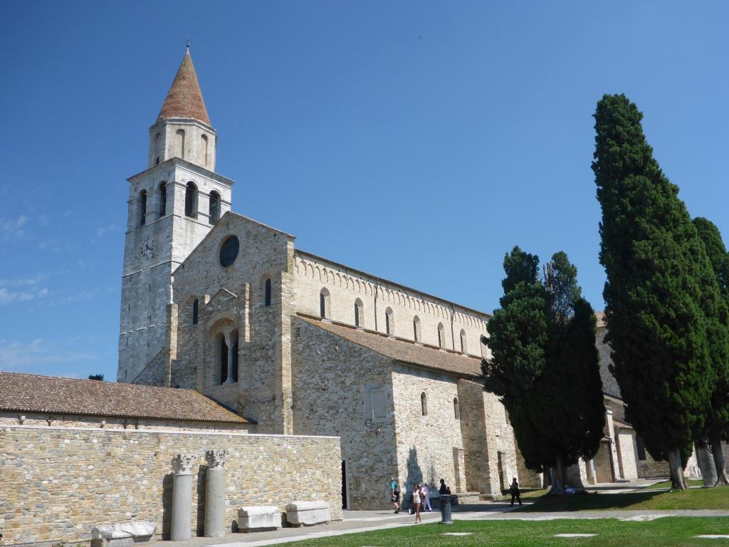 Mittelalterliche Basilika in Aquileia (Bild: Klaus Dapp)
