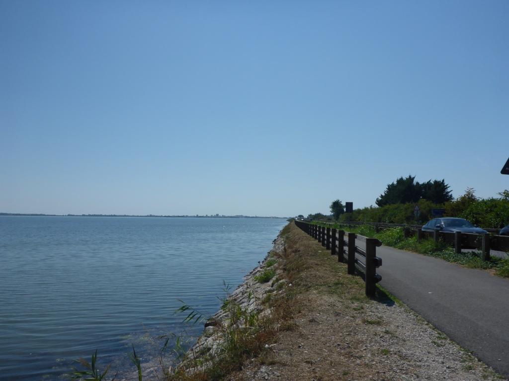 Radweg nach Grado (Bild: Klaus Dapp)